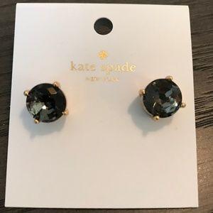Kate Spade Gumdrop Studs in Black